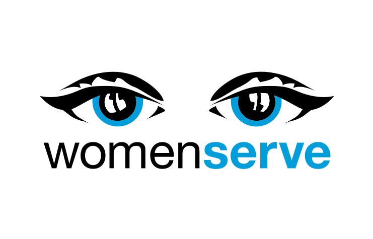 women serve logo
